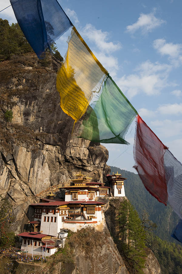 Tigers nest monastery in Bhutan