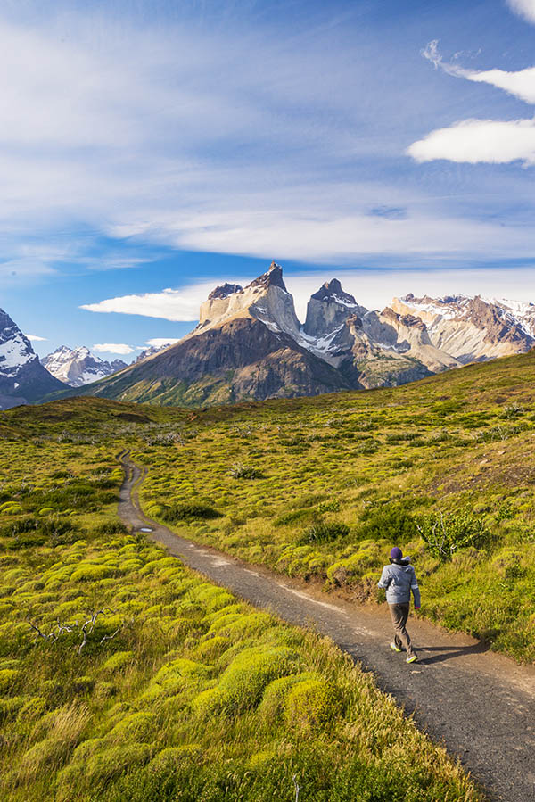 Photographer in the Torres Del Paine