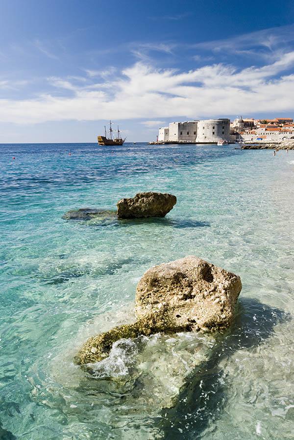 Banya Beach Dubrovnik's best photo locations