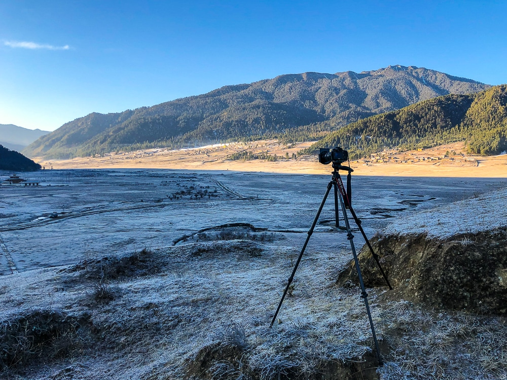 tripod for landscape photography