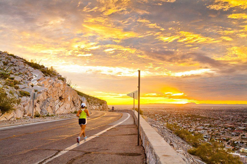 running in el paso