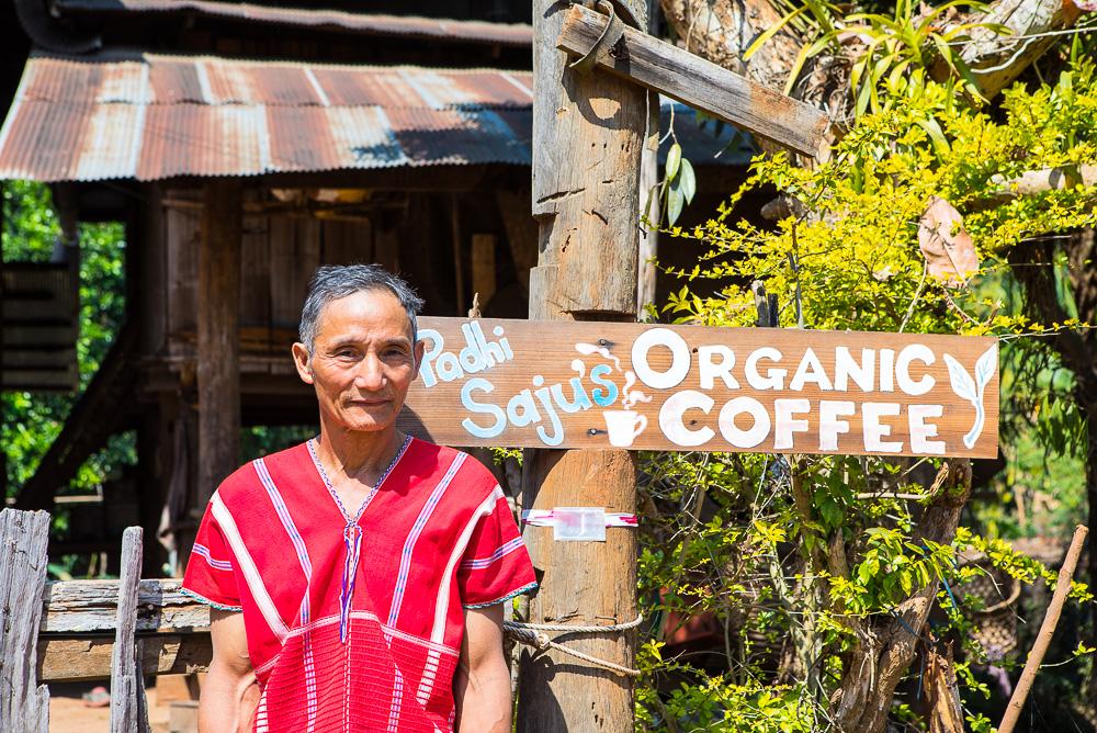 Padhi Saju's organic coffee