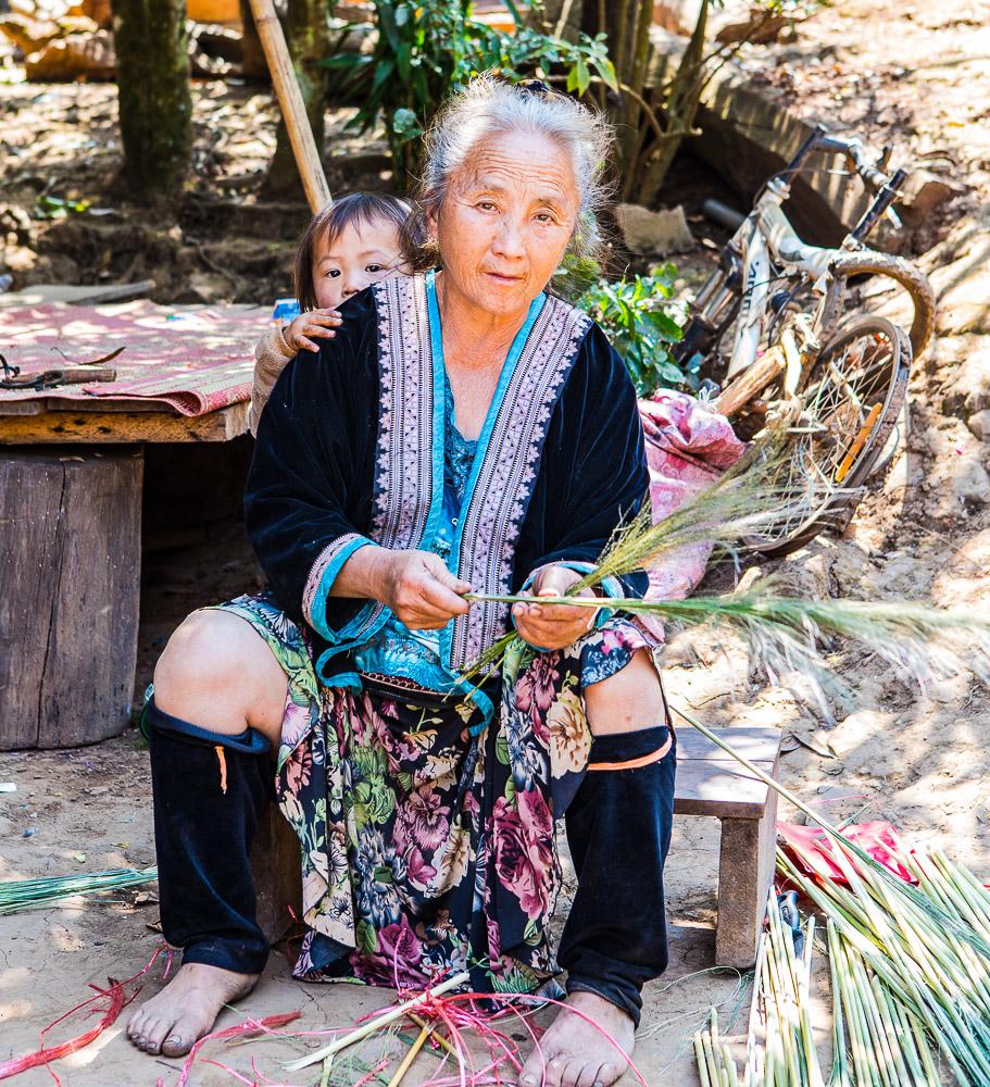 local tribe mae hong son region
