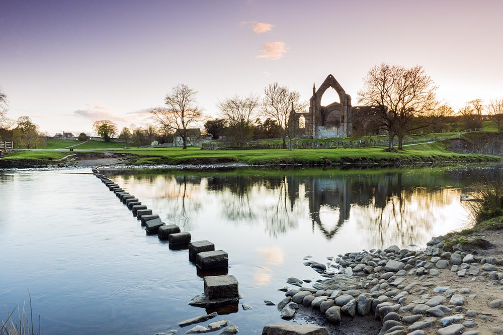 Bolton Abbey, number 6 on our Top 6 spots for Landscape photography