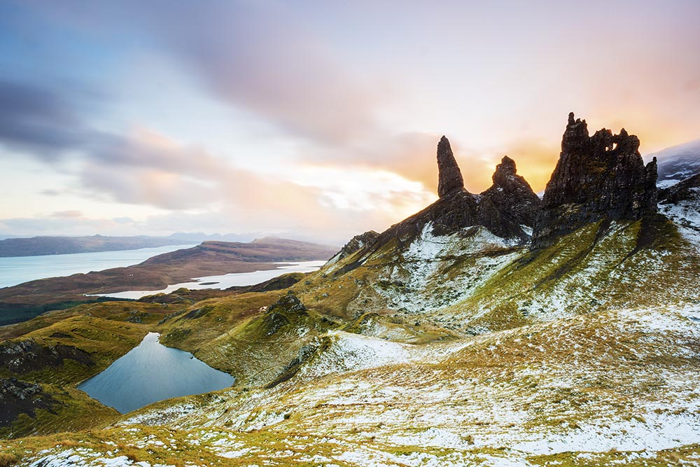 Old Man of Stor, number 1 on our Top 6 spots for Landscape photography.