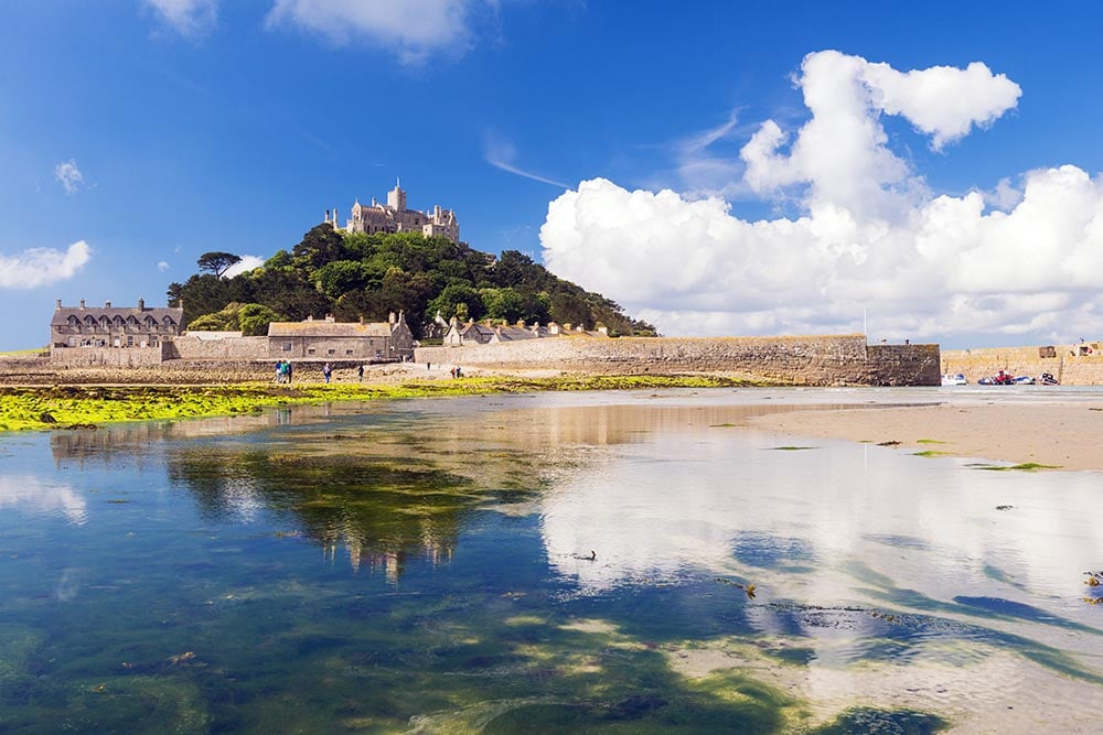 St Michaels mount, number 5 on our Top 6 spots for Landscape photography