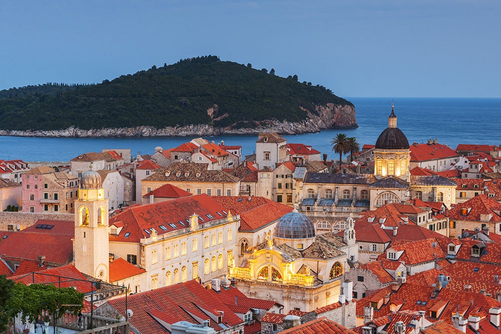 Dubrovnik old town photo location