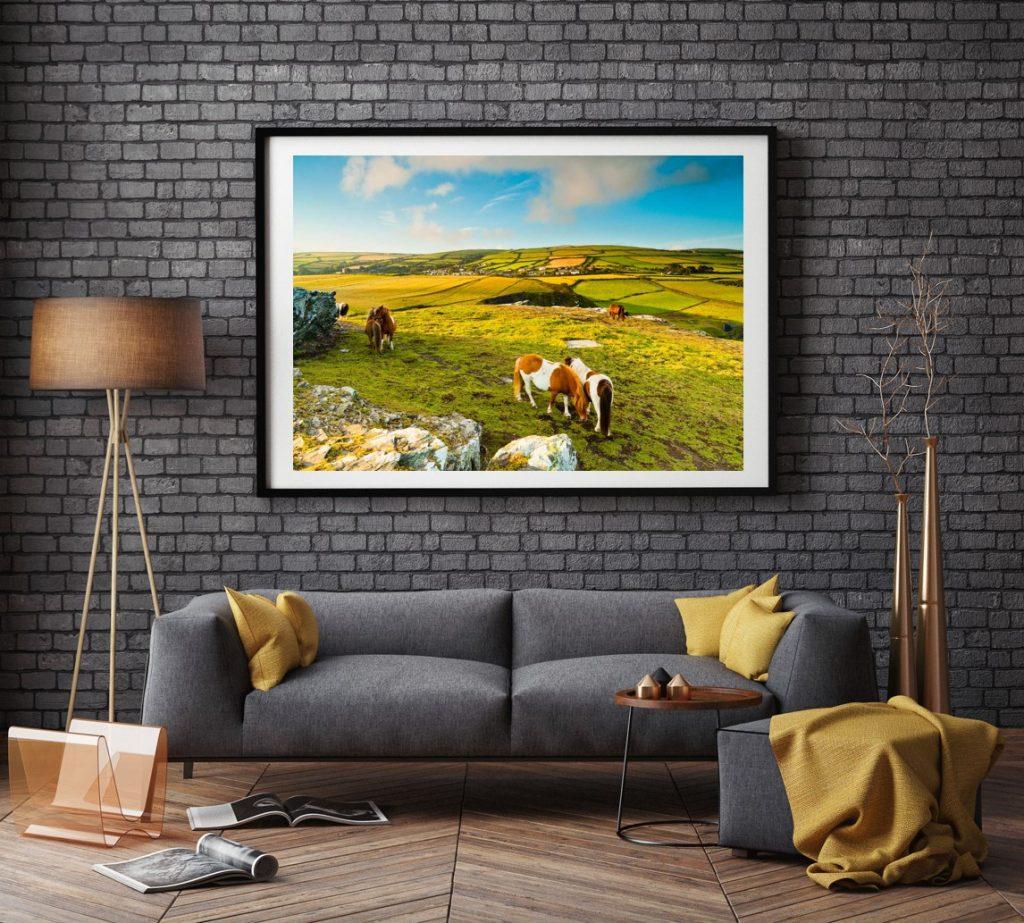 boscastle photography print