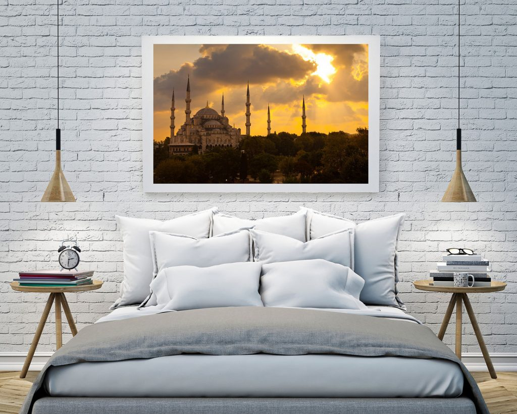blue mosque istanbul print