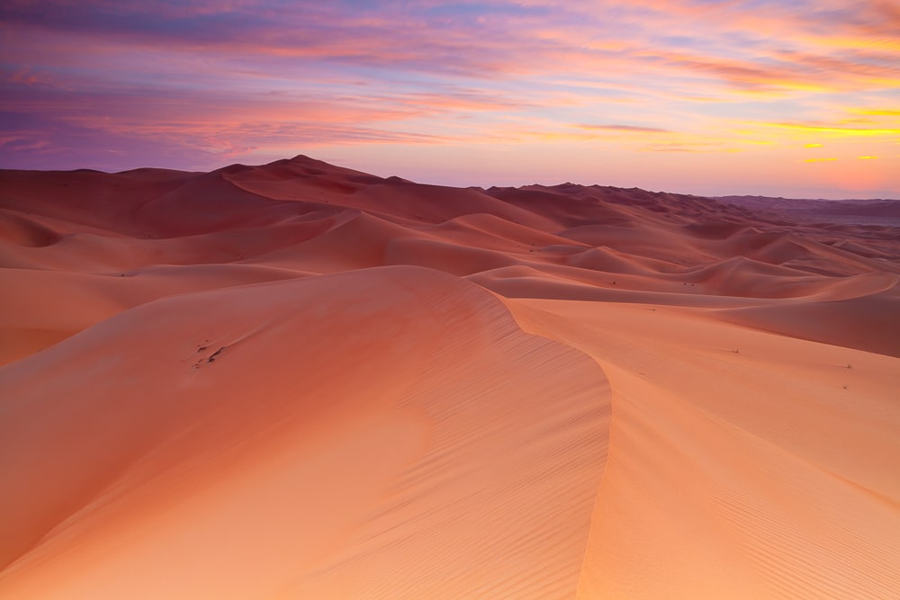Empty quarter UAE