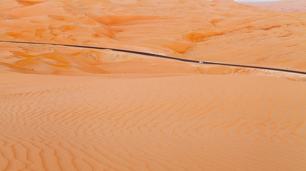 photographing deserts