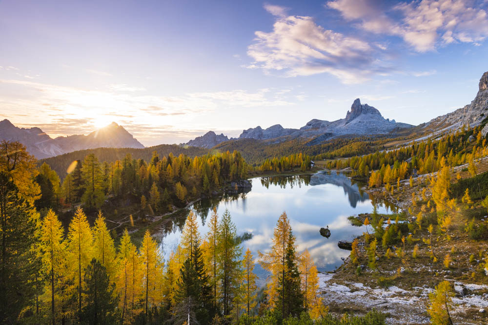 Photography Guide to the Dolomites Lake Federa