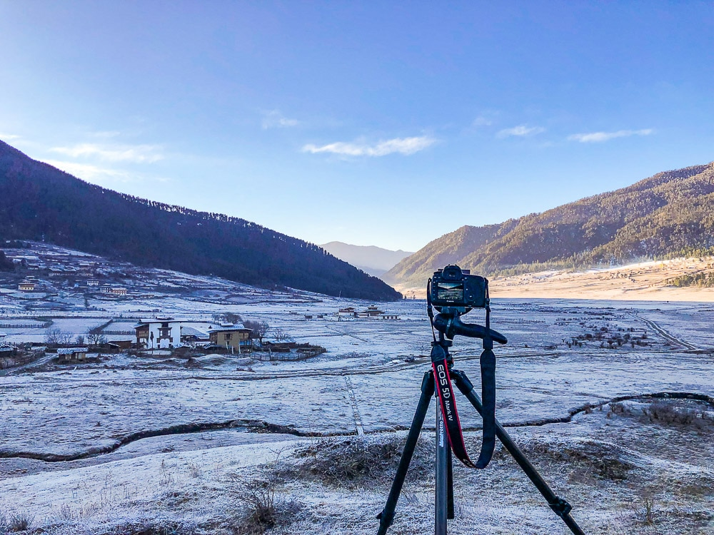 use a tripod for photography