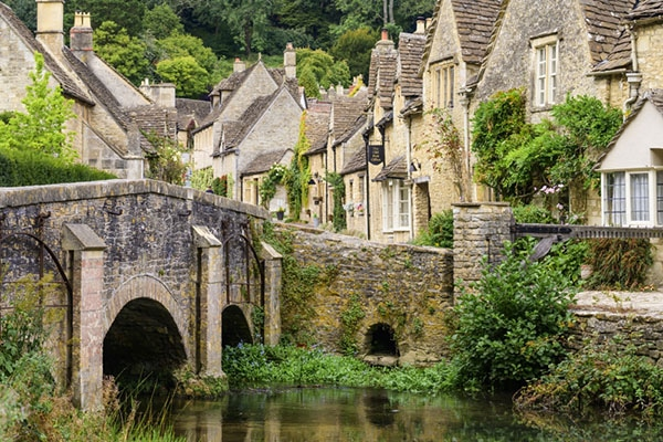 Castle Coombe on a Cotswolds photography workshop