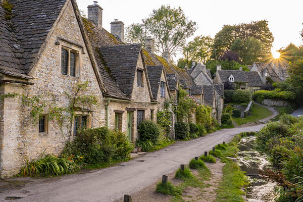 Arlington Row on a Cotswolds photography workshop