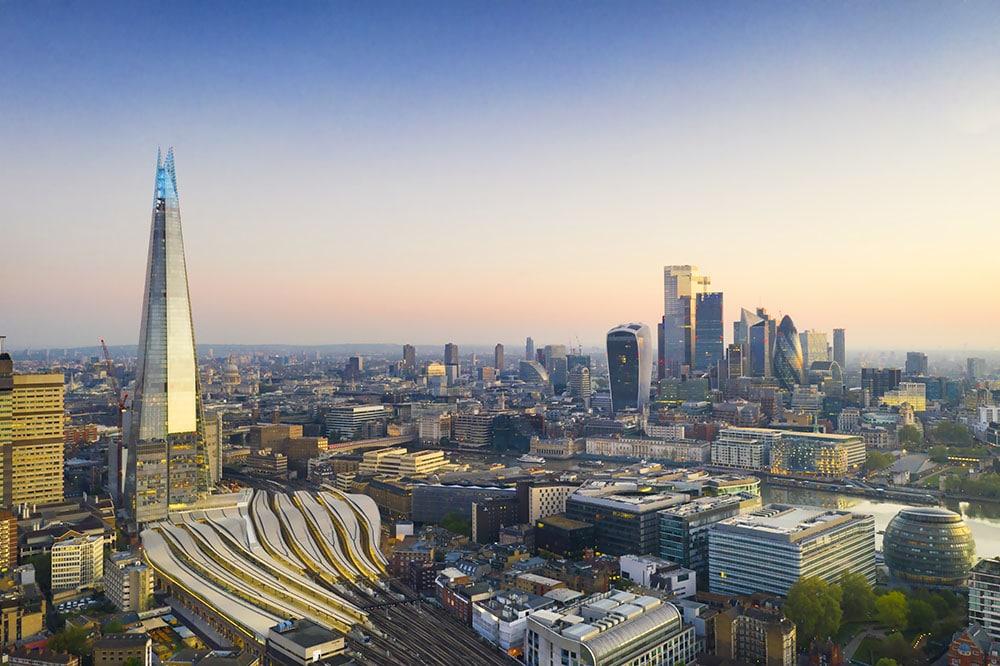 Amazing Drone Photo of London