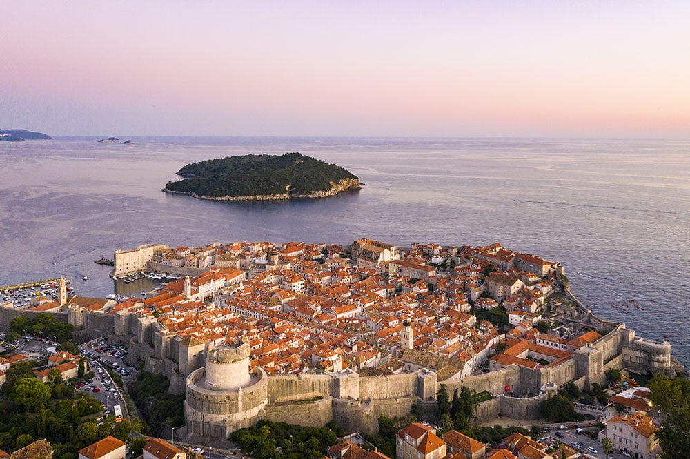 Amazing Drone Photo of Dubrovnik