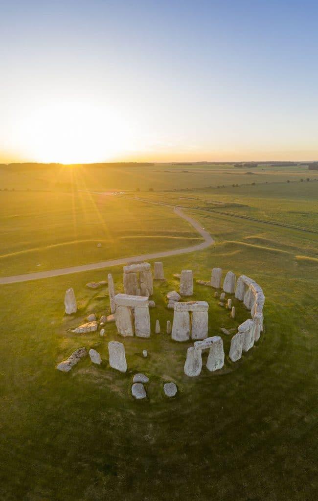 Amazing Drone Photo of Stonehenge