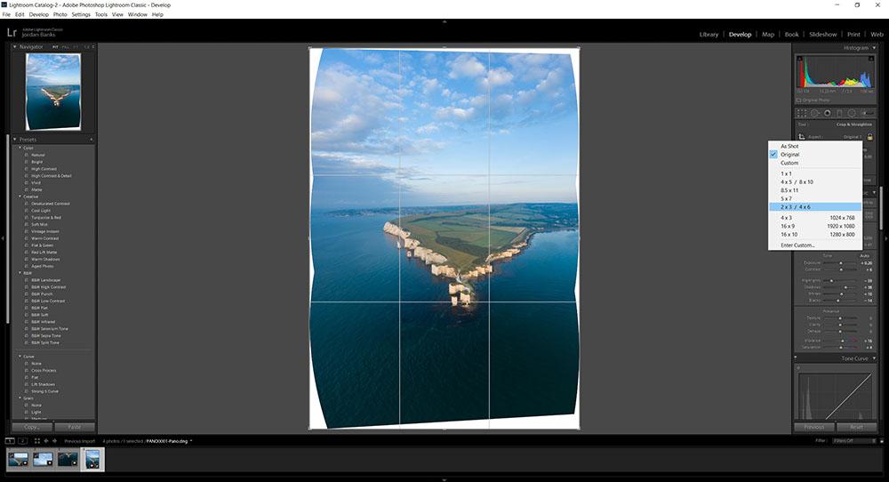 Shooting Panoramas With DJI Mavic 2 Drone