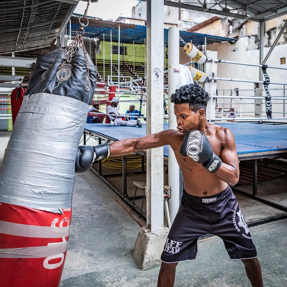 boxing gym in havana