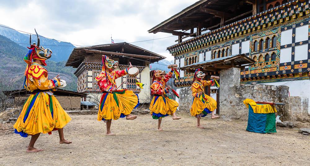 performers in bhutan