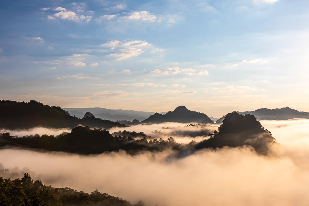 thailand sea of clouds