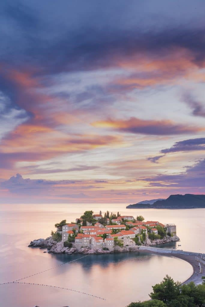 Travel Photography Sveti Stefan