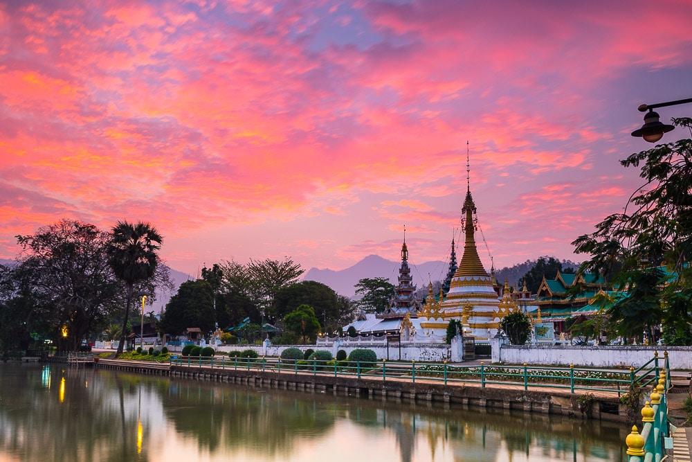 Mae Hong Son sunrise