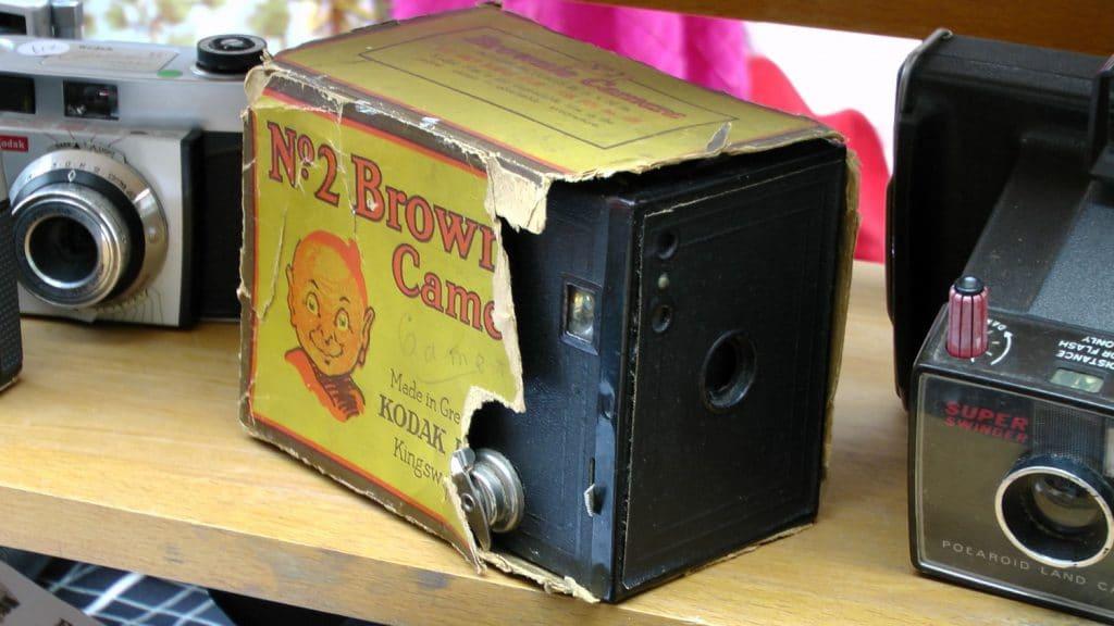 Kodak No. 2 Brownie Camera. By Alex Borland